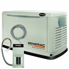 Generac Guardian Series 5873 Natural GasLiquid Propane Powered Standby Generator