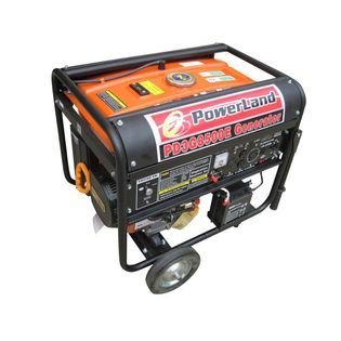 Powerland PD3G 10000E Tri Fuel GasPropaneNatural Gas Powered Portable Generator2