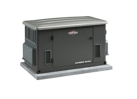 Briggs & Stratton 40303 15,000 Watt IntelliGen Natural GasLiquid Propane Powered Air Cooled Home Standby Generator (CARB Compliant)