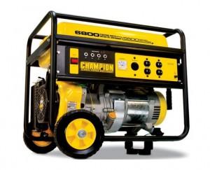Champion Power Equipment 41135 6,800 Watt 338cc 4-Stroke Gas Powered Portable Generator (CARB Compliant)