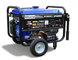 DuroMax XP4400EH 7 HP Dual Fuel PropaneGas Powered Portable Electric Start Generator, 4400-Watt