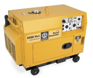 Steele Products SP-GD650E 6,500 Watt 4-Cycle Diesel Powered Portable Generator With Electric Start