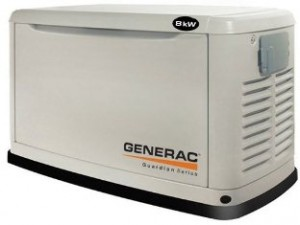 Generac Guardian Air Cooled Liquid Propane Natural Gas Powered Standby Generator Series 5882