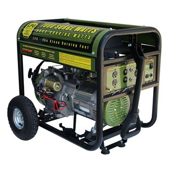 Sportsman GEN 7000 LP Propane Powered Portable Generator