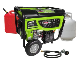 best duel fuel generators for the money