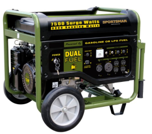best duel fuel generators on the market f
